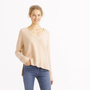 J. Crew V Neck Sweater in Yarn H3911 Sz Small